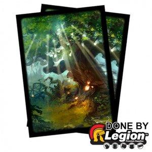 Blackfire Sleeves: Standard Double-Matte: Forest (66x91mm)