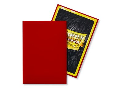 Dragon Shield Card Sleeves: Japanese Matte Crimson (59x86mm) - 60 stuks