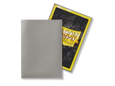 Dragon Shield Card Sleeves: Japanese Matte Silver (59x86mm) - 60 stuks