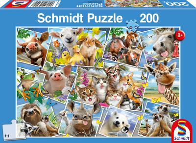 Dieren Selfies - Puzzel (200)