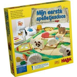 Mijn eerste spelletjesdoos: De grote spelletjesverzameling van HABA (3+)