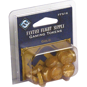 Gaming Tokens - Gold (Fantasy Flight Supply)