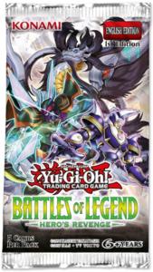 Yu-Gi-Oh! Battles of Legend: Hero's Revenge (Booster)