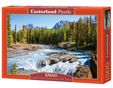 Athabasca River, Jasper National Park, Canada - Puzzel (1500)