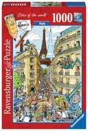 Fleroux: Paris, Cities of the World - Puzzel (1000)
