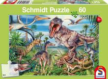 Bij de Dinosaurussen - Puzzel (60)
