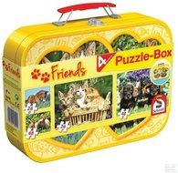Huisdieren - Puzzelbox (2x26, 2x48)