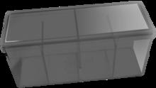 Four Compartment Box (Silver)