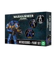 Warhammer 40,000 - Intercessors + Paint Set
