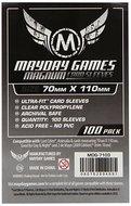 Mayday Card Sleeves: Magnum Ultra Fit (70x110mm) - 100 stuks