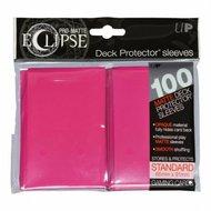 Ultra Pro Eclipse PRO-Matte Sleeves: Standaard Hot Pink (66x91mm) - 100 stuks