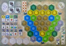 Castles of Burgundy: The 4th Expansion (Monastery Boards)