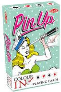 Colour-In Speelkaarten: Pin-Up