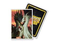 Dragon Shield Standard Art Sleeves: Valentine Dragons (63x88mm) - 100 stuks