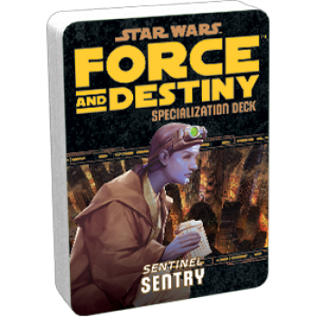 Afbeelding van het spel Star Wars: Force and Destiny - Sentry (Specialization Deck)