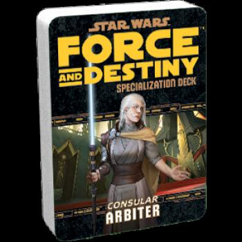 Afbeelding van het spel Star Wars: Force and Destiny - Arbiter (Specialization Deck)