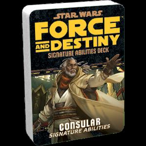 Afbeelding van het spel Star Wars: Force and Destiny - Consular (Signature Abilities)