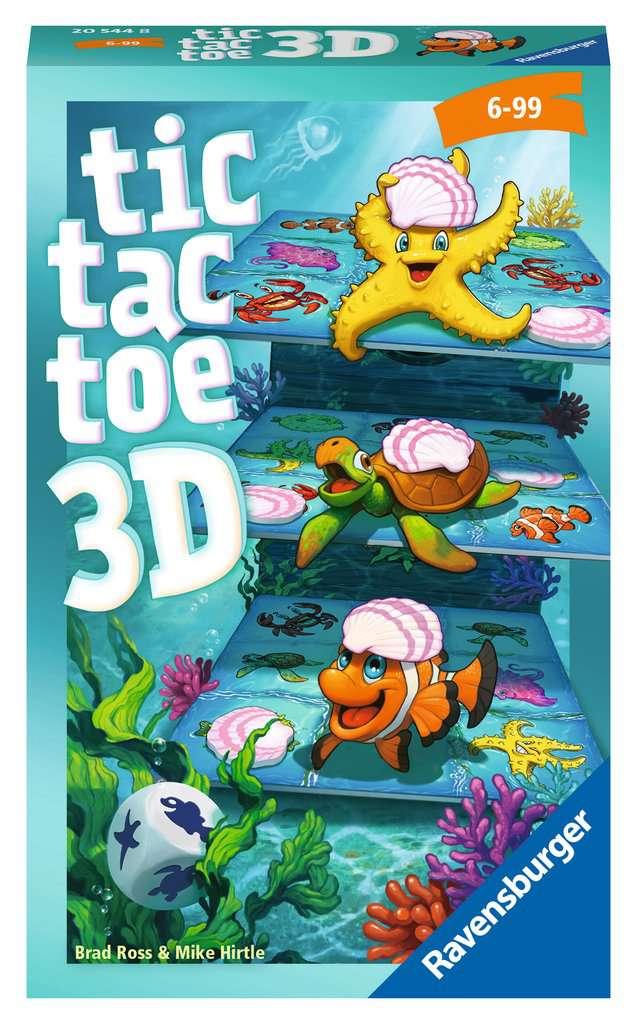 Afbeelding van het spelletje Tic Tac Toe 3D