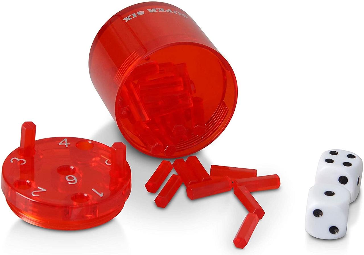 Afbeelding van het spel Super Six (Rood)