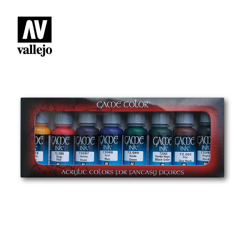 Afbeelding van het spel Game Color Set: Game Inks (Vallejo)