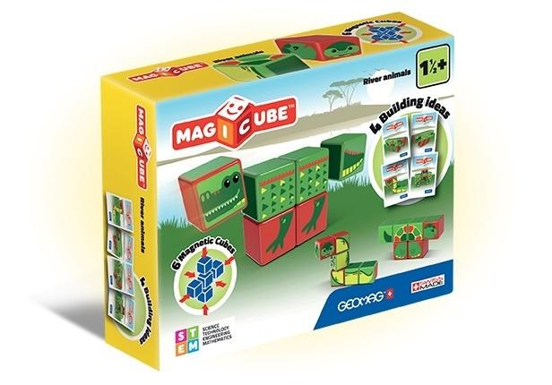 Afbeelding van het spelletje MagiCube River Animals