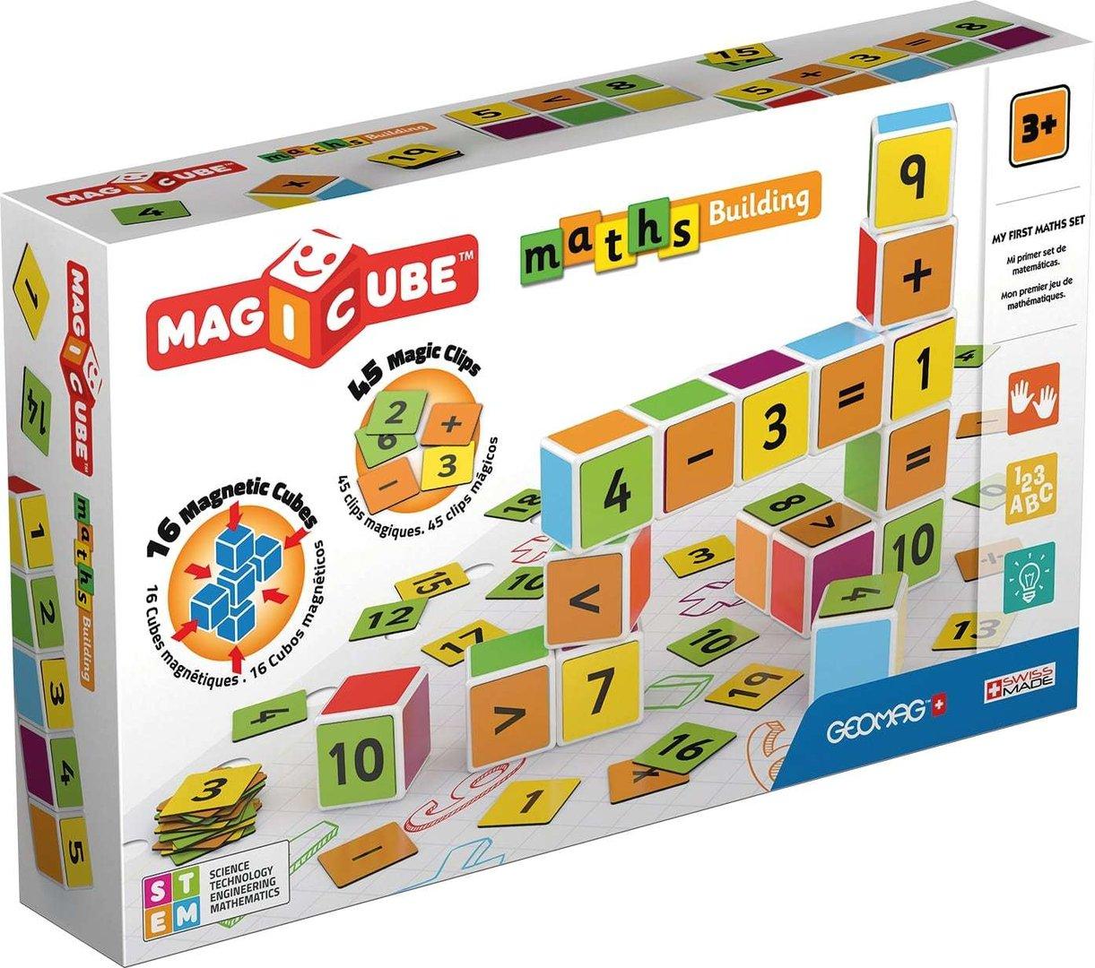Afbeelding van het spelletje MagiCube Rekenen