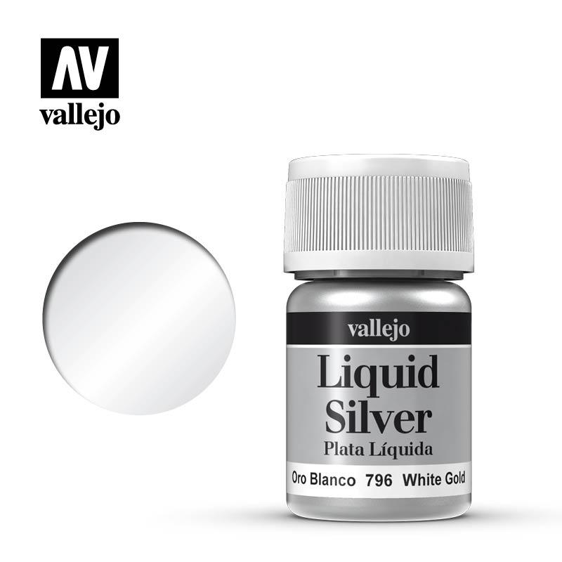 Afbeelding van het spel Liquid Gold: White Gold (Vallejo)