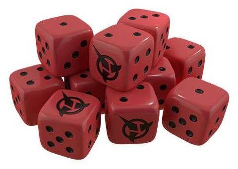 Afbeelding van het spel Star Trek Ascendancy: Klingon Dice Pack