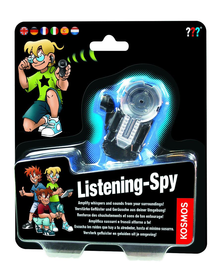 Afbeelding van het spelletje Listening-Spy (The Three Detectives)