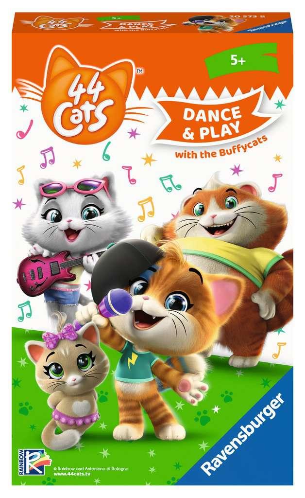 Afbeelding van het spelletje 44 Cats: Dance&Play with the Buffycats (5+)