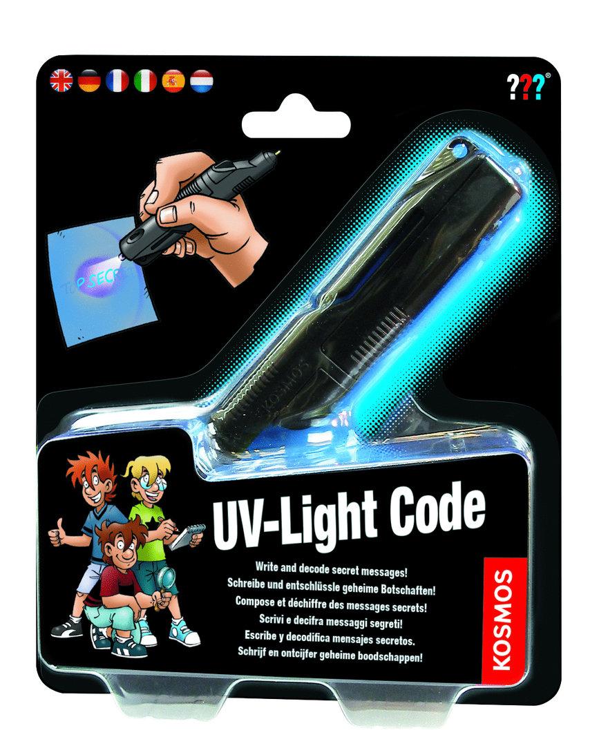 Afbeelding van het spelletje UV-Light Code (The Three Detectives)