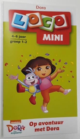 Afbeelding van het spelletje Mini Loco - Op Avontuur met Dora (4-6 jaar)