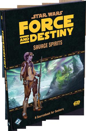 Afbeelding van het spel Star Wars: Force and Destiny - Savage Spirits