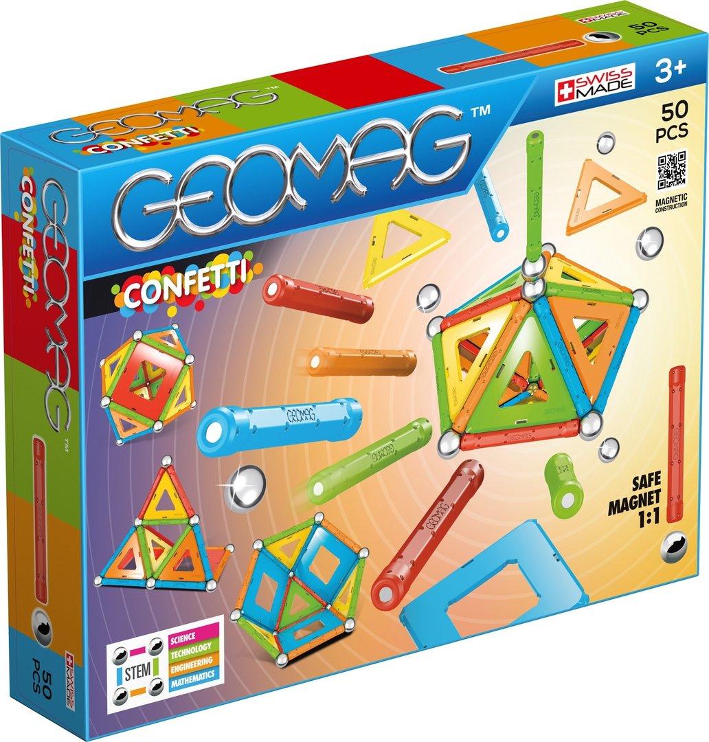 Afbeelding van het spelletje Geomag Confetti (50)