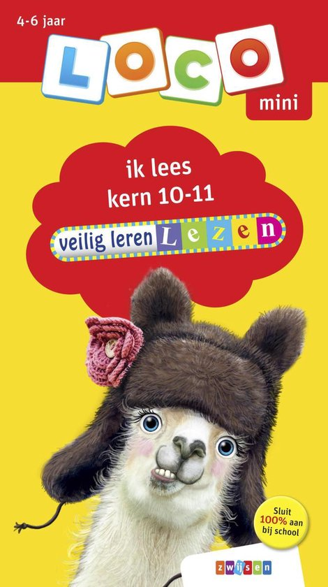 Afbeelding van het spelletje Loco Mini Boekje - Veilig Leren Lezen: Kern 10-11