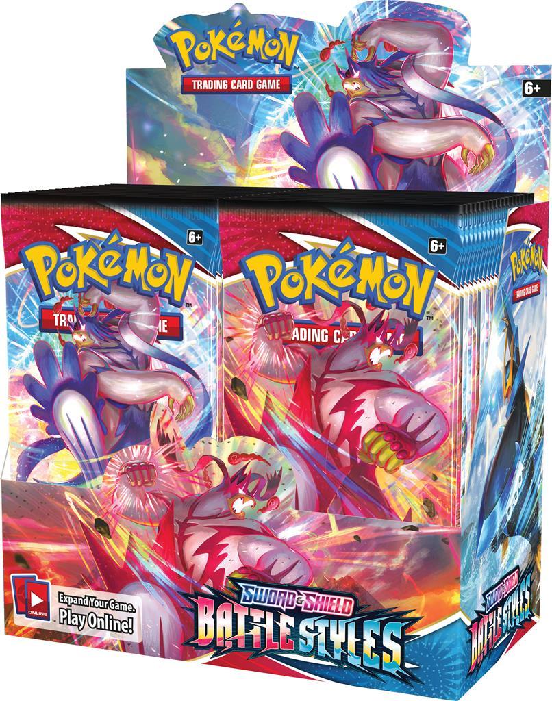 Afbeelding van het spelletje Pokémon: Sword&Shield - Battle Styles Boosterbox