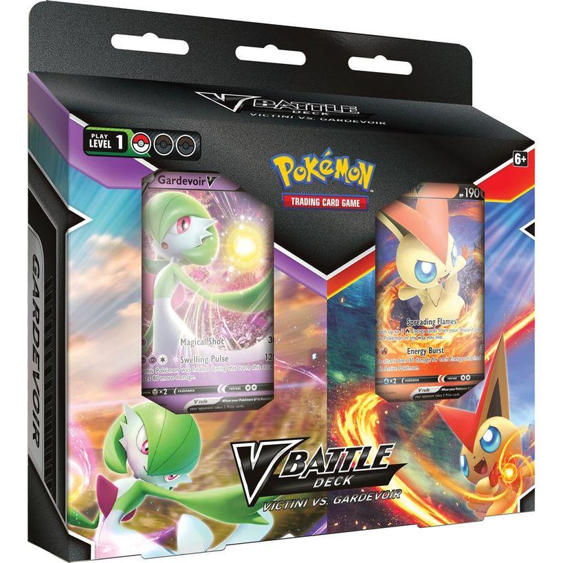 Afbeelding van het spelletje Pokémon: V Battle Deck Bundle (Victini vs. Gardevoir)