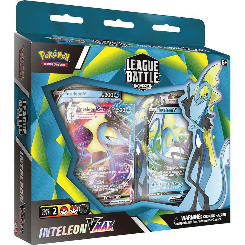 Afbeelding van het spelletje Pokémon: League Battle Deck (Inteleon Vmax)