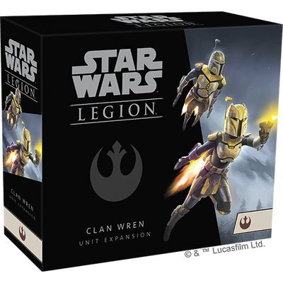 Afbeelding van het spel Star Wars Legion: Clan Wren Unit Expansion