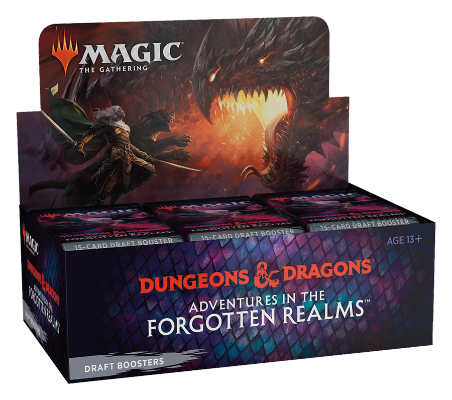 Afbeelding van het spelletje MTG: Adventures in the Forgotten Realms Draft Boosterbox
