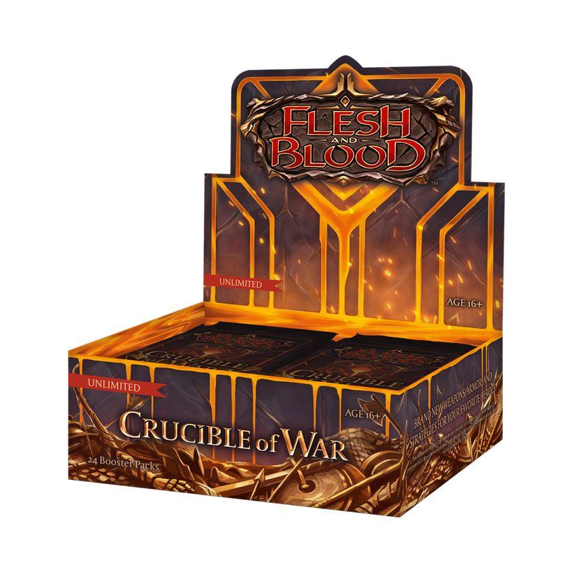 Afbeelding van het spelletje Flesh and Blood: Crucible of War (Unlimited Boosterbox)