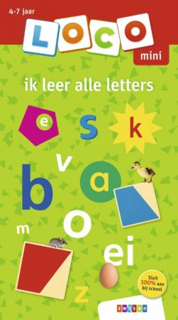 Afbeelding van het spelletje Loco Mini Boekje - Ik leer alle letters