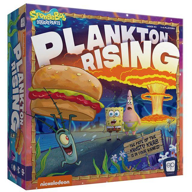 Afbeelding van het spel SpongeBob SquarePants: Plankton Rising