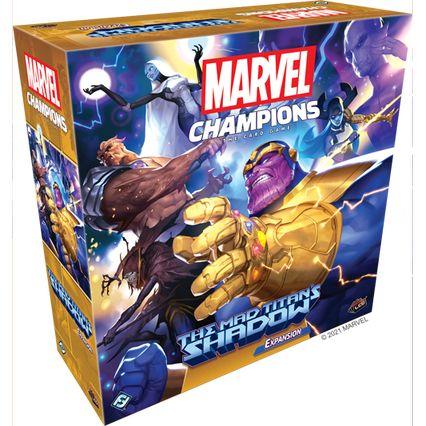 Afbeelding van het spelletje Marvel Champions: The Card Game - The Mad Titan's Shadow