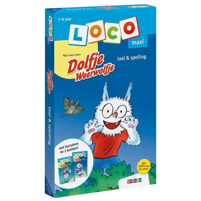 Afbeelding van het spelletje Loco Maxi Pakket - Dolfje Weerwolfje: Taal&spelling