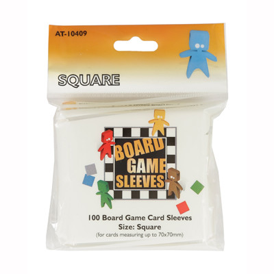 Afbeelding van het spel Board Game Sleeves: Square (69x69mm) - 100 stuks