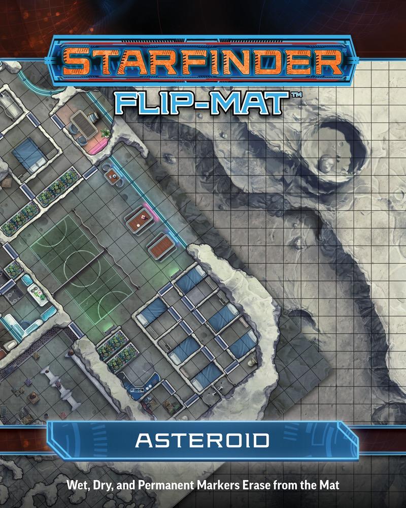 Afbeelding van het spel Starfinder Flip-Mat: Asteroid