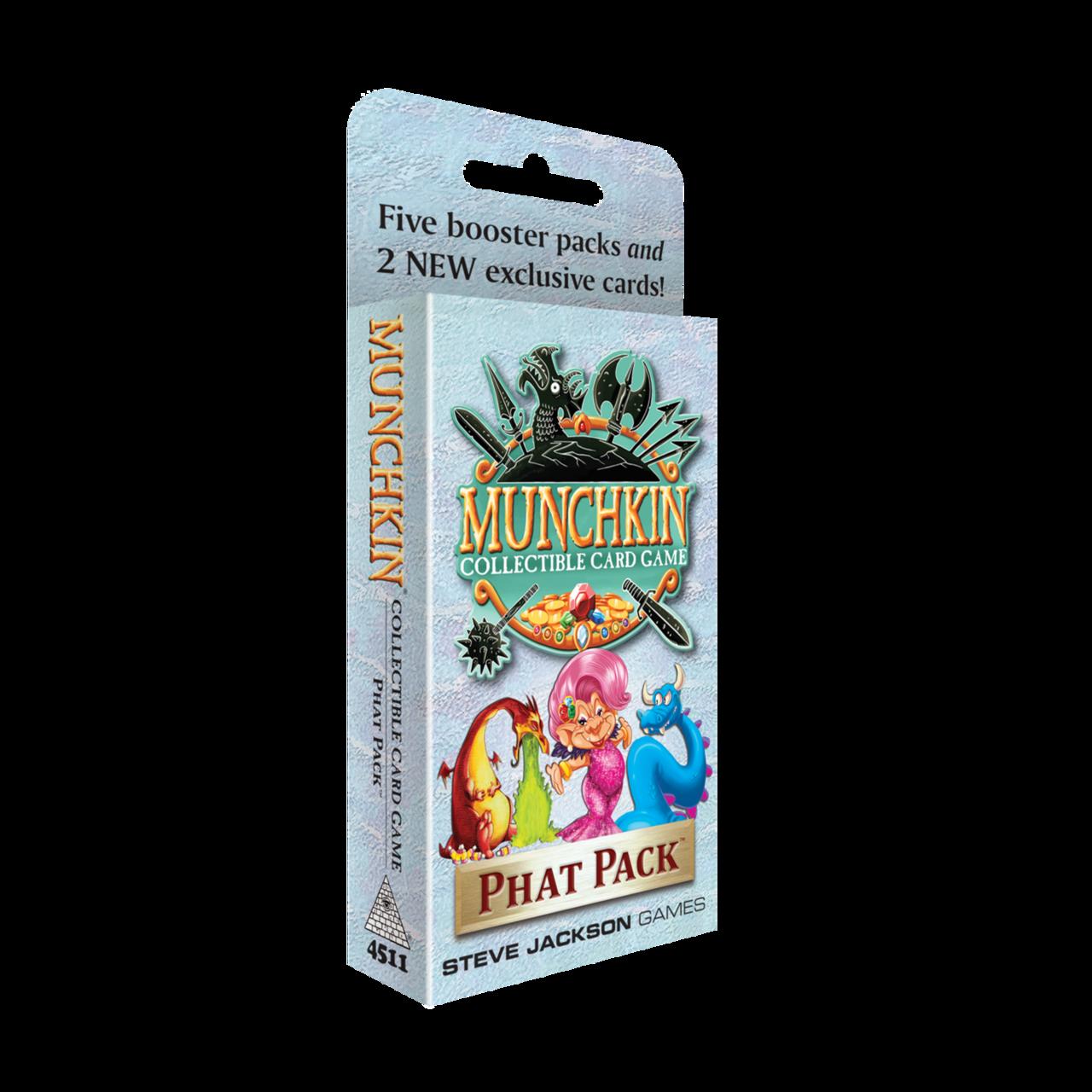 Afbeelding van het spel Munchkin Collectible Card Game: Phat Pack