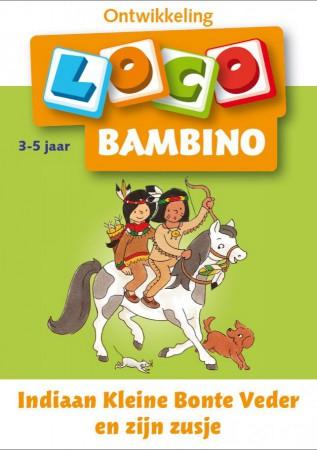 Afbeelding van het spelletje Bambino Loco - Indiaan Kleine Bonte Veder en zijn zusje (3-5 jaar)