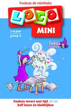 Afbeelding van het spelletje Mini Loco - Foeksia Tovert met Tijd (7-8 jaar)